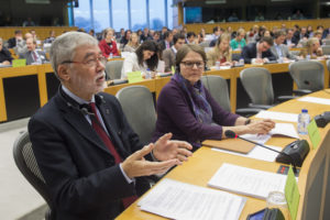 Sergio Cofferati during revision of the Shareholder Rights Directive. Photo: © European Parliament - Audiovisual Unit