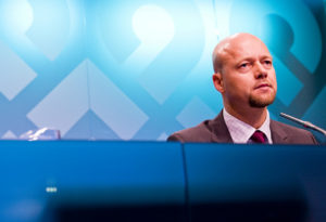 Yngve Slyngstad, CEO of the Norwegian oil fund.