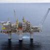 Statoil's The Troll A oil platform in Norwegian waters
