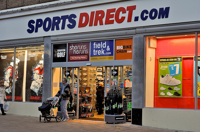 Sports Direct. Photo: Martin Pettitt, Flickr