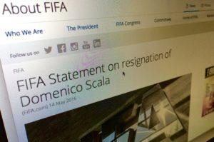FIFA webpage
