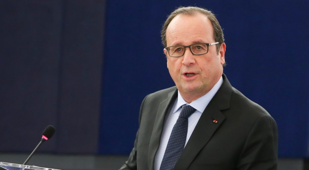 Francois Hollande. Photo: European Parliament