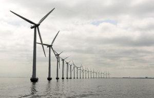 Middelgruden offshore wind farm Denmark. Photo: UN Photo/Eskinder Debebe.