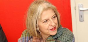 Theresa May. Photo: Cheshire East Council