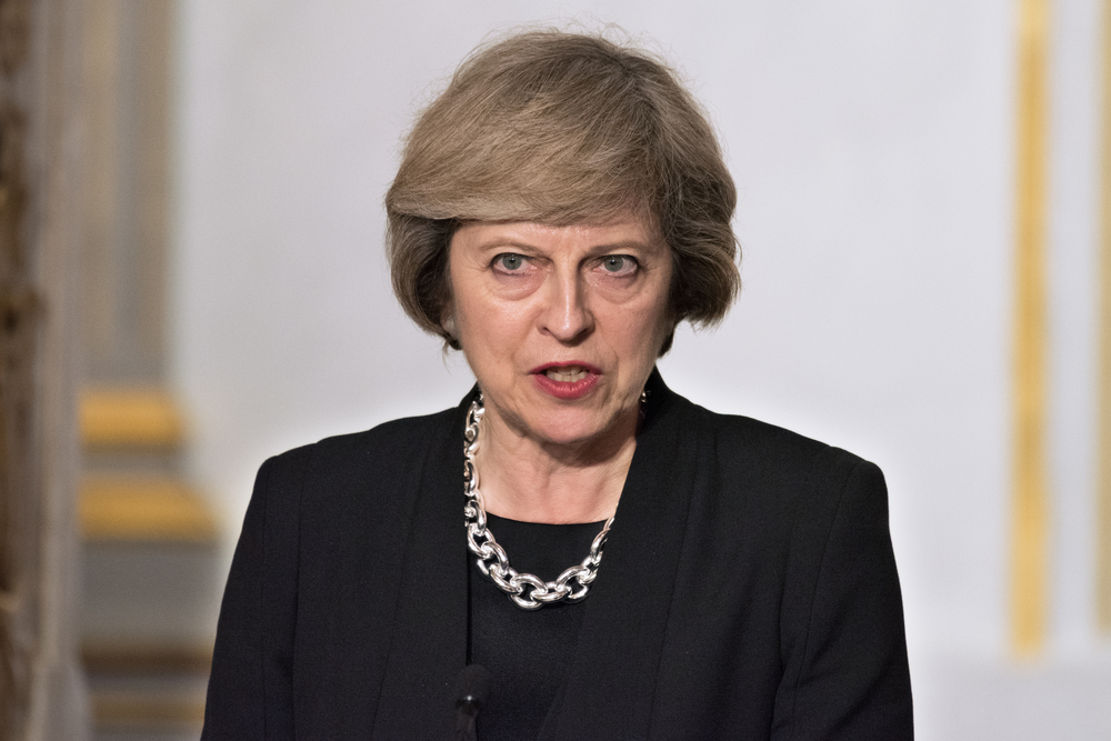 Theresa May, prime minister