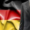 German flag, German businessman, German business
