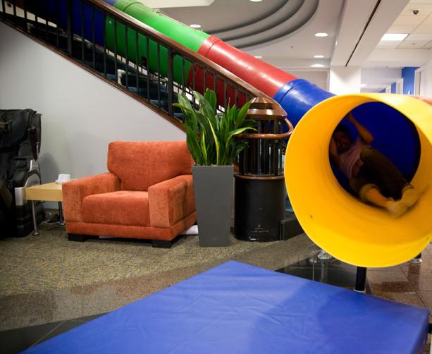 Office perks, slide