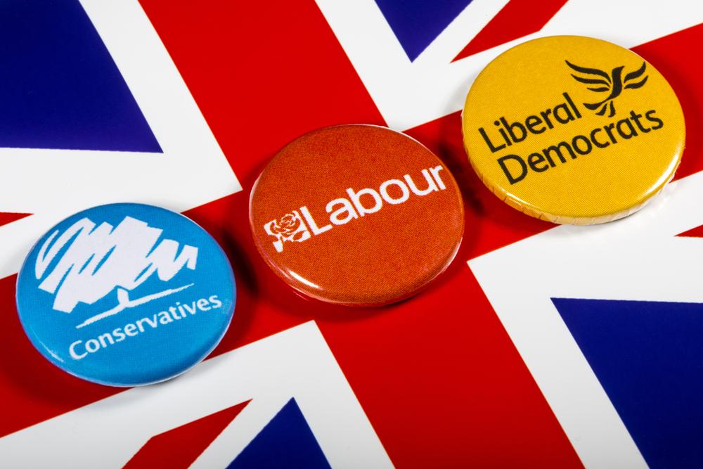 general election, politics, political parties UK
