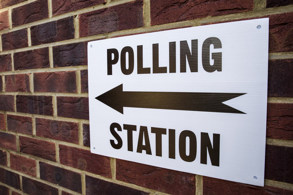 Polling station, general election