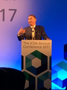 Andrew Kakabadse, ICSA conference