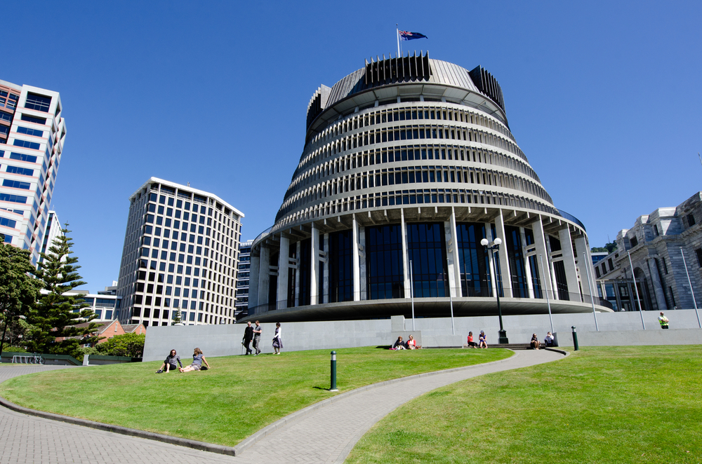 The Beehive Building – Parliament of NZ, Wellington