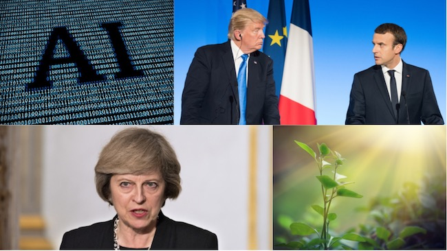 corporate governance, uncertainty, Macron, Trump, May, AI, sustainability