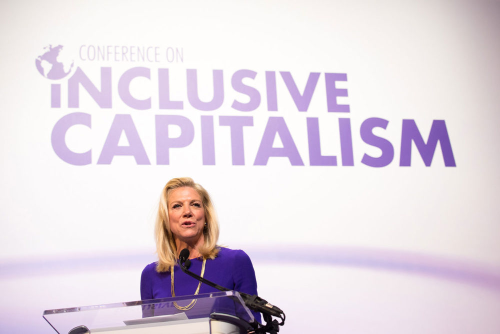 Lady Lynn Forester de Rothschild, , Coalition for Inclusive Capitalism, responsible business