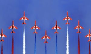 Red Arrows, high-performing teams, board performance, board effectiveness, teamwork, PLC board performance
