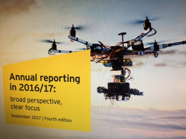Annual Reporting in 2016/17, EY, annual reports