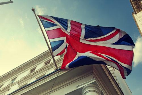 UK flag, UK government