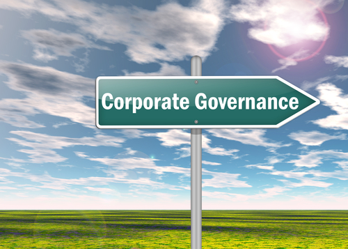 corporate governance sign