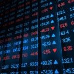 Stock market board