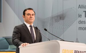 Carlos Ghosn. Photo: Renault