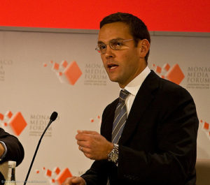 James Murdoch. Photo: Eirik Solheim, Flickr.