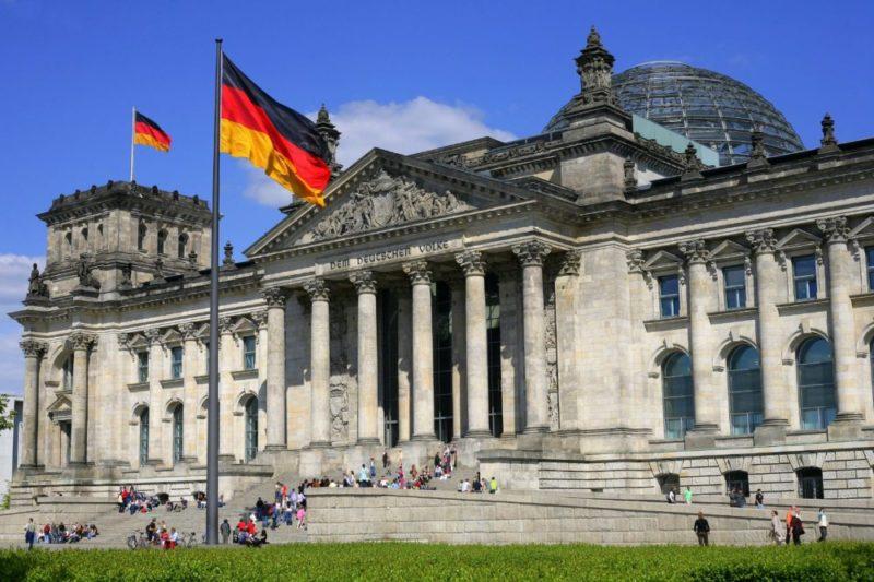 German government building Berlin, German law, Germany