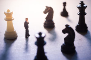 Business strategy, chess game