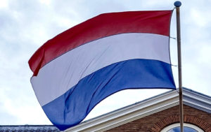 Dutch flag. Photo: Shutterstock (cropped).