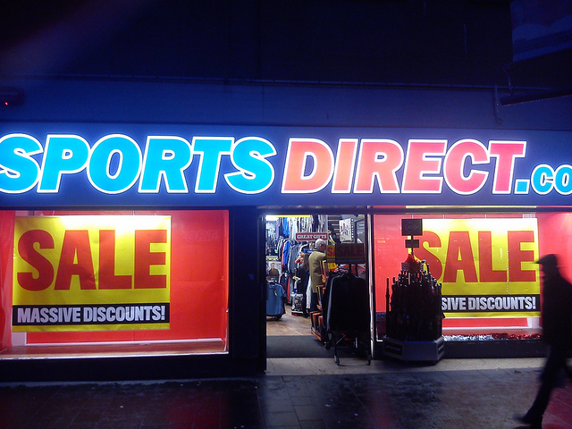 Sports Direct, Keith Hellawell