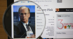 Larry Fink: companies must make a 'positive contribution' to society