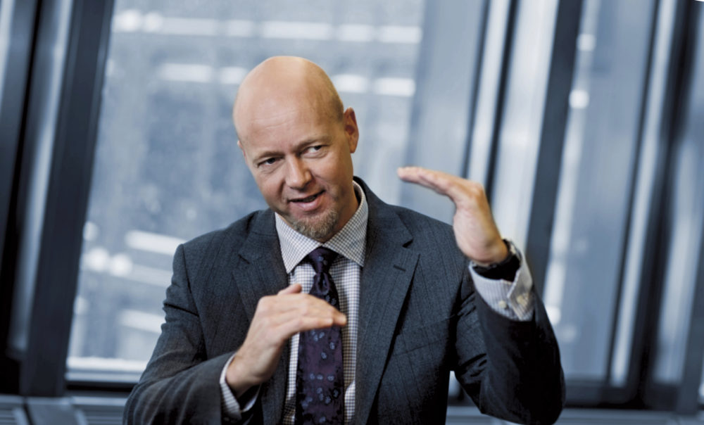Yngve Slynstad, Norges Bank Investment Management