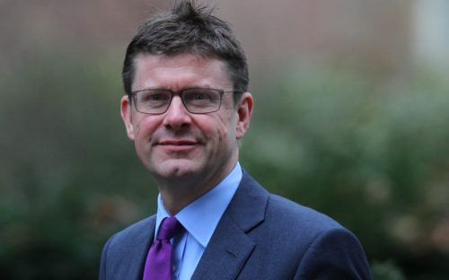 Greg Clark, business secretary, governance reform