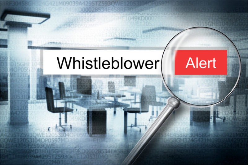 Whistleblowing: the problem with speaking out