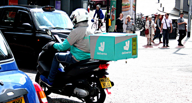 Deliveroo, Taylor Review, employment reform, gig economy