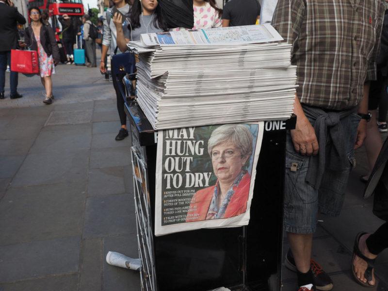 Theresa May, General Election 2017
