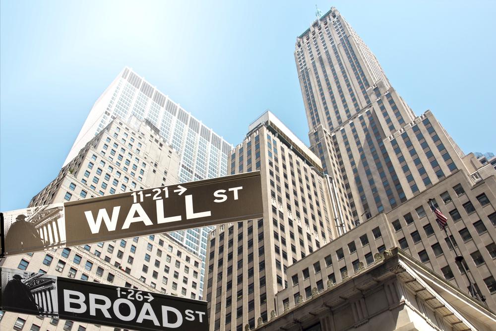 Wall Street, Broad Street, New York