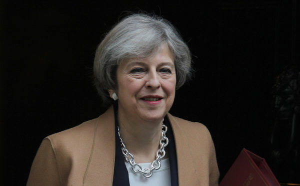 Theresa May, prime minister, UK