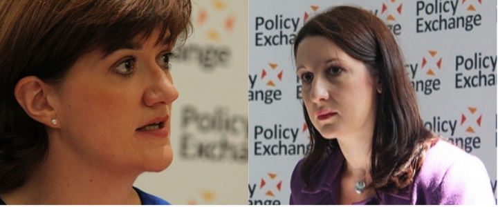 Nicky Morgan, Rachel Reeves.