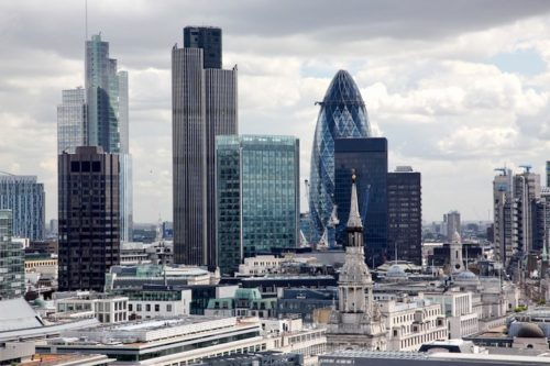 City of London, financial, banking