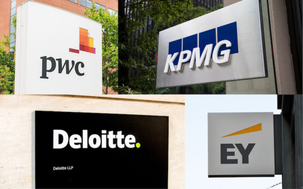Big Four, Deloitte, KPMG, EY, PwC