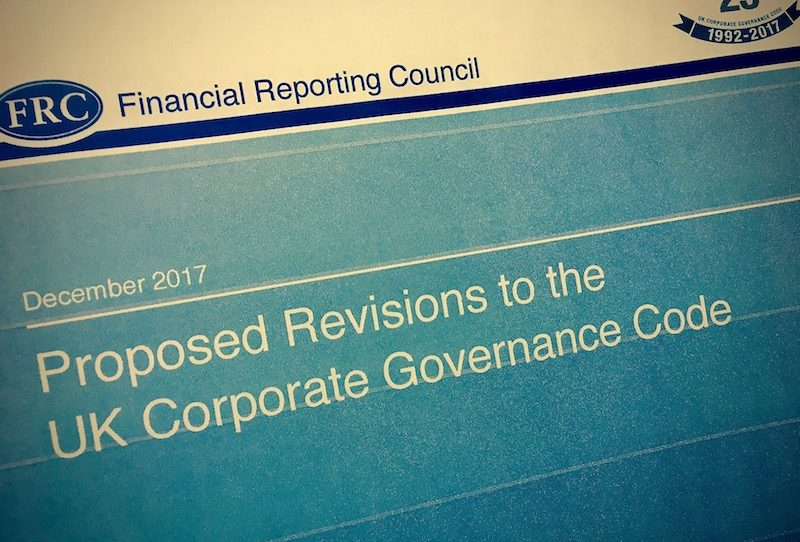governance code, UK Corporate Governance Code, FRC