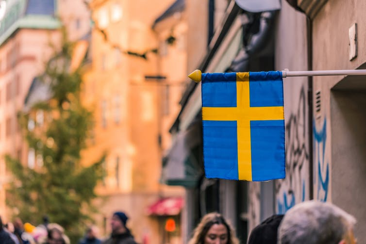 Sweden, Swedish flag, sustainability reporting