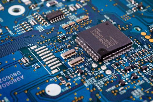Microchips, IT, technology, data
