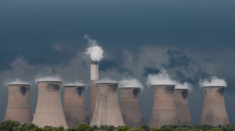 power station, climate change
