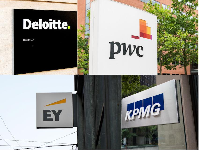 Big Four, PwC, Deloitte, EY, KPMG