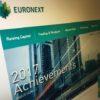 Euronext website
