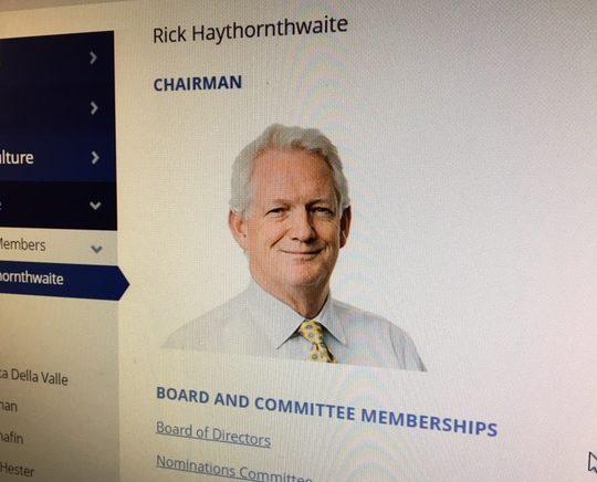 Rick Haythornthwaite, Centrica