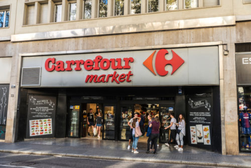 Carrefour, French business