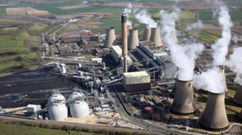 Drax power station, carbon emissions, coal