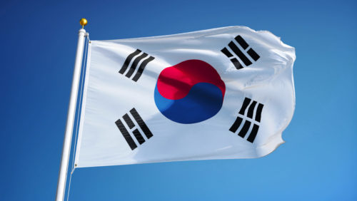South Korea, South Korean flag