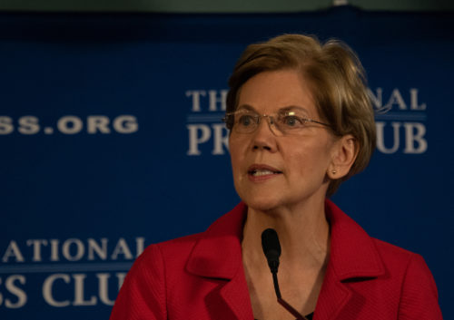 Elizabeth Warren, US senator